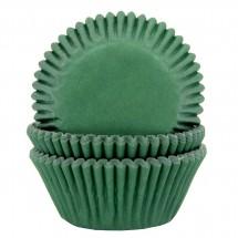 Cápsulas cupcakes color verde