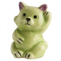 Figura roscón gato verde