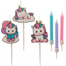 Mix velas Unicornio