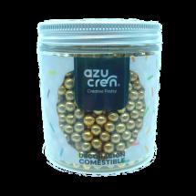 Mini bolas de oro, chocolate y cereales