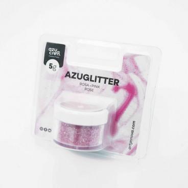 Purpurina Azuglitter rosa No tóxica