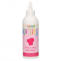 Choco drip fucsia Funcakes
