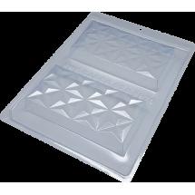 Molde tableta de chocolate Nuance 3D BWB