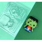 Molde Frank Baby de chocolate 3D BWB