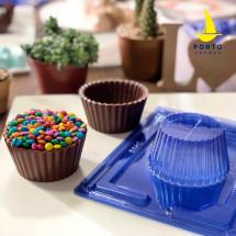 Molde de chocolate Cupcake gigante PF