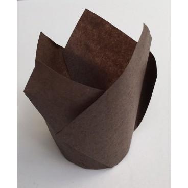 Cápsulas mini muffins marrones