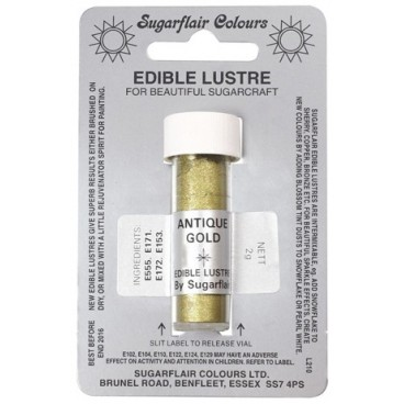 Seda comestible Antique Gold