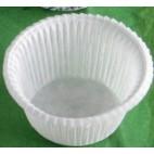 Cápsulas muffins blancas bajas