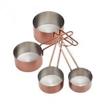Tazas medidoras de cobre KC