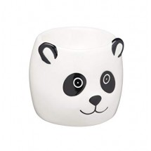 Huevera cerámica panda