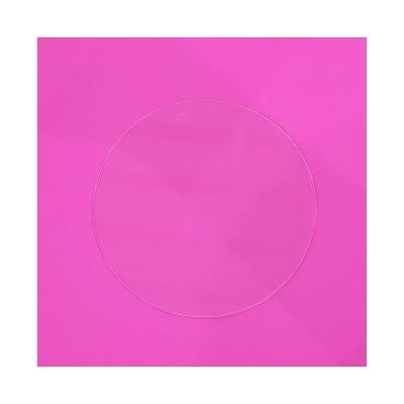 Disco acrílico 19 cm. sin marca