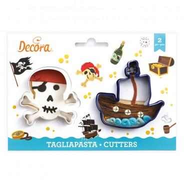 Kit 2 cortadores piratas