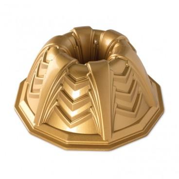 Marquee bundt pan Gold