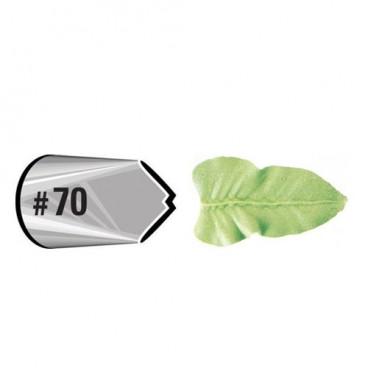 Boquilla Wilton 070 Leaf Carded