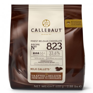 Callets Chocolate con leche 33,6%