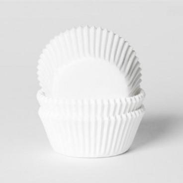 Cápsulas mini cupcakes blancas 12uds