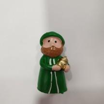 Figura roscón Gaspar verde